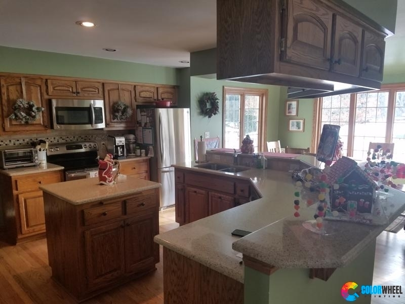 Hartland Painting Cabinets C1a