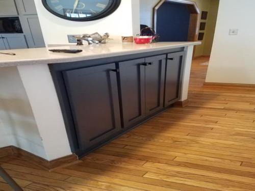 New Berlin Cabinet Painting and Refacing c1d1a